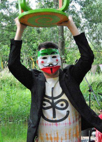 Omslag-mask